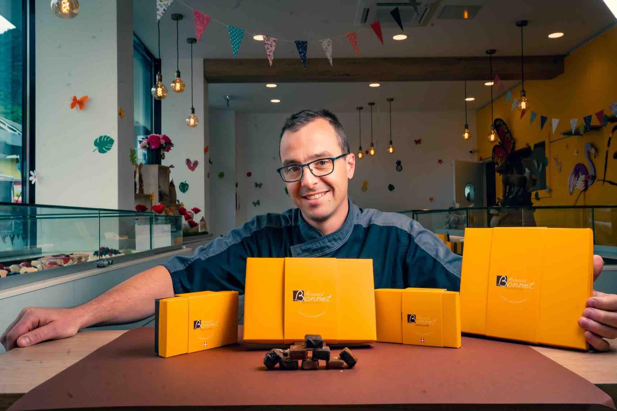 Arnaud Bonnet ballotins chocolat