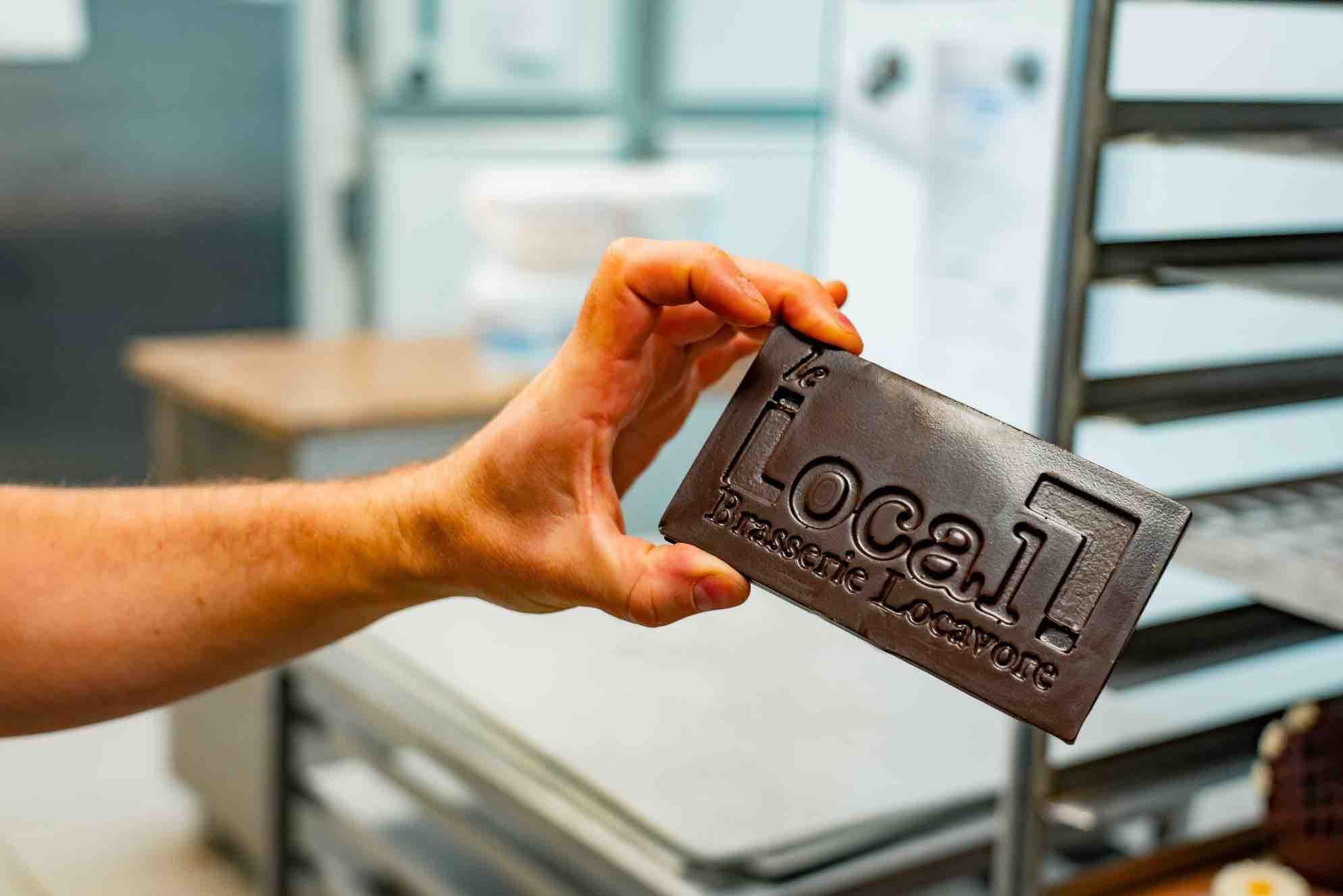 Locavore tablette chocolat entreprises